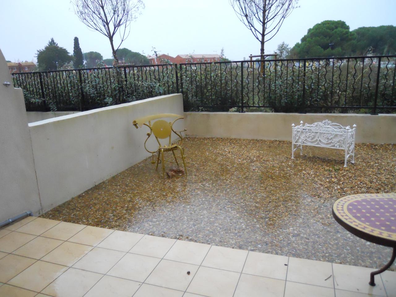 Un jardin inondé coté canal - 5 novembre
